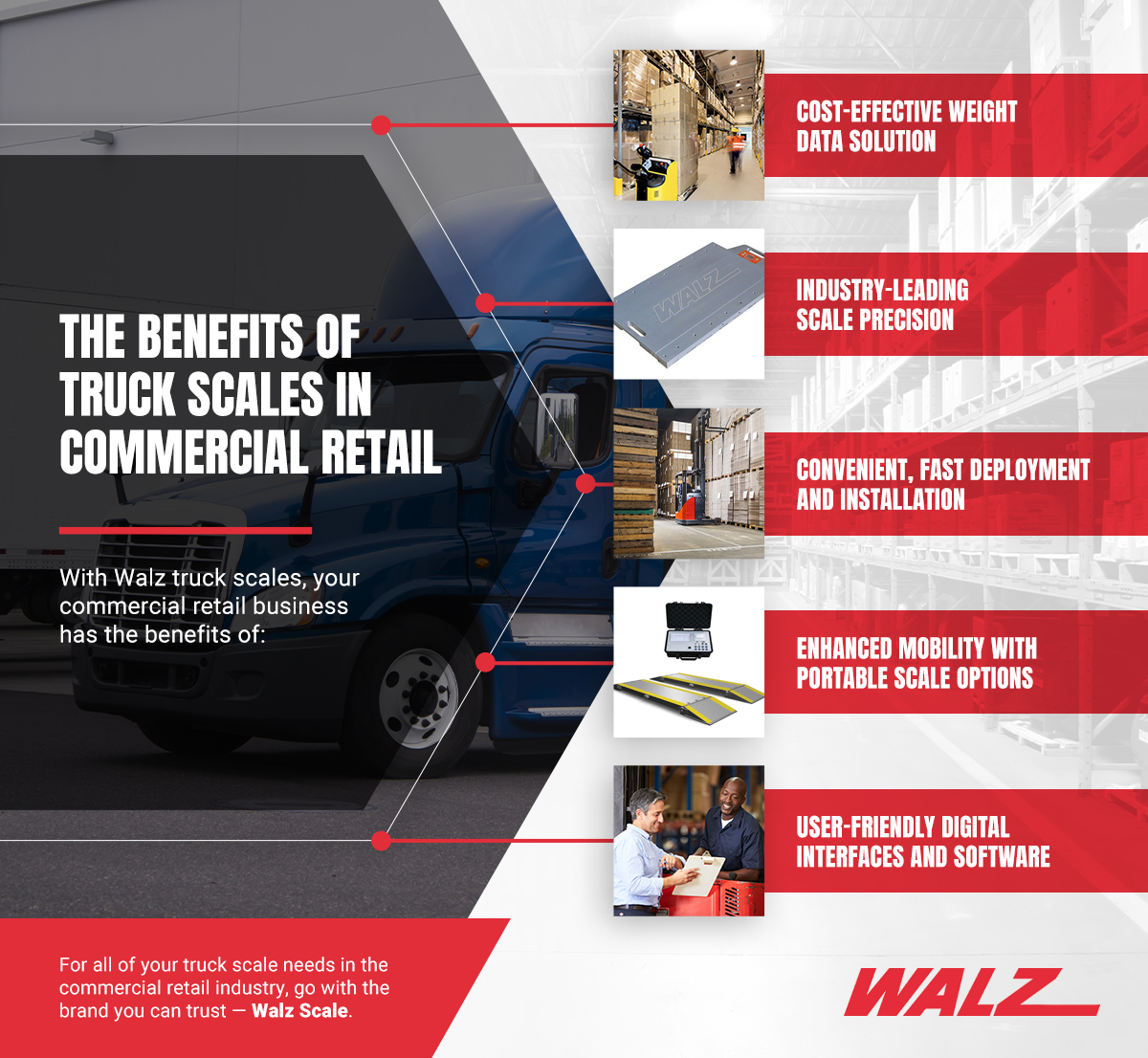 The Benefits of Truck Scales in Commercial Retail